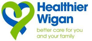 Healthier Wigan Logo