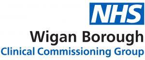 MAIN LOGO - Wigan Borough CCG û RGB Blue
